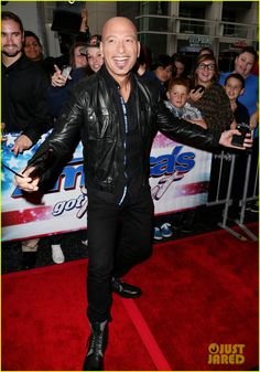 Howie Mandel on the 'America's Got Talent' red carpet in Los Angeles!