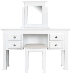Buy Windsor Elegance French Painted Furniture Dressing Table Set from Oak Furniture House with free delivery* WIN-DTS 4 Drawer Dressing Table, Shabby Chic Dressing Table, Dressing Table With Chair, White Dressing Tables, Italian Bedroom Sets, Black Bedroom Sets, Kids Bedroom Sets, White Bedroom, Childrens Bedroom
