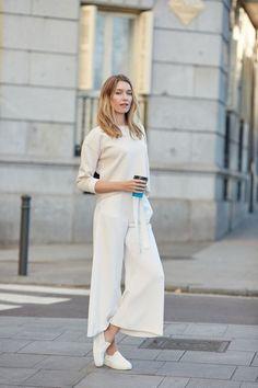 Comment porter la jupe-culotte en hiver 10 Meilleures tenues