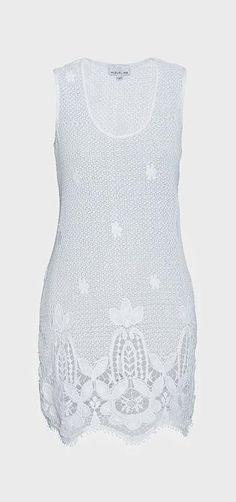 Intermix  Miguelina Scalloped Hem Lace Dress
