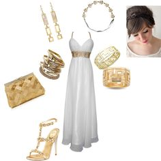 Greek Goddess, created by brightstar-bling on Polyvore