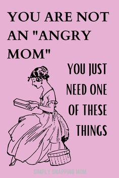 """Be a happy and calm mom with these 6 tips. Moms aren't """"angry"""" they are just deprieved of these important needs. Break the anger cycle! When you get to the bottom of which of these things you need, you can be a better mom and enjoy your family. Gentle and simple parenting advice included. Parenting Articles, Parenting Quotes, Parenting Hacks, Attachment Parenting, Happy Mom, Gentle Parenting, Mom Advice, Mom Hacks, Mom Humor"""