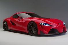 Toyota FT-1 Concept is a sports car concept, which was made public at the motor Show in North America by Toyota. front-engine, rear-wheel drive design #ToyotaFT1Concept #FT1Concept