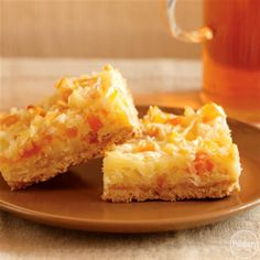 Apricot-Coconut Cookie Bars from Pillsbury®