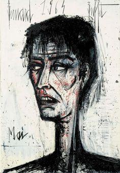 Autoportrait Bernard Buffet 1964