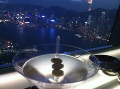 "Hong Kong, 120 floor high ""Martini Dry"""