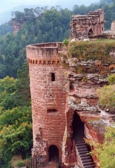Altdahn Castle is a castle ruin in the Palatinate Forest near Dahn in Rhineland-Palatinate, Germany.
