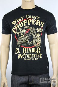 T-shirt West Coast Choppers El Diablo | Kustom shop | Custom shop