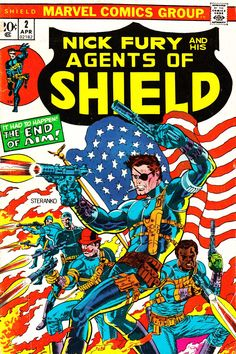 Nick Fury and the Agents of SHIELD #2 - Steranko