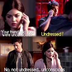 Lucy Hale (Aria Montgomery) , Cody Christian (Mike Montgomery) , & Ryan Guzman (Jake) - Pretty Little Liars