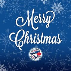 Wishing you all a Merry Christmas! Go Blue, Toronto Blue Jays, Cold Day, Merry Christmas, Neon Signs, Baseball, Instagram Posts, October, Sports