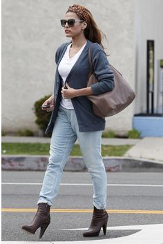 Eva Mendes in West Hollywood