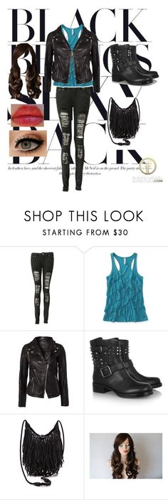 """""""I'm Dangerous- 1"""" by candy10s ❤ liked on Polyvore featuring Boohoo, Aéropostale, SELECTED and Valentino"""