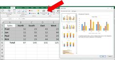 One Cool Tip .com: Let Excel Recommend the Best Chart