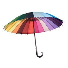 Pantone rainbow umbrella