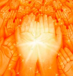 Hands of Light Hands Of Light, Spiritual Pictures, Deep Art, Spiritual Wellness, Outdoor Playground, Attitude Of Gratitude, Inspirational Quotes About Love, Trees To Plant, Healing