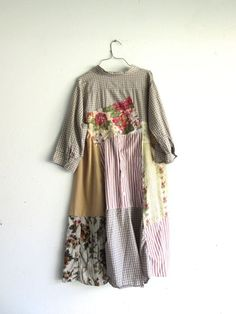 upcycled floral Dress / romantic Upcycled clothing / by CreoleSha: