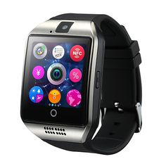 SCELTECH NFC Smart watch Apro Q18s Support Bluetooth SIM GSM Video camera Support Android/IOS cell phone PK GT08 GV18 U8