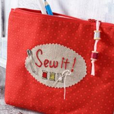 kostenlosen Anleitung eine schöne Stofftasche für Deine Nähsachen!