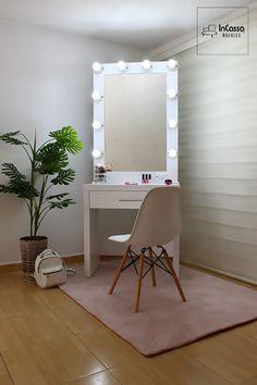 Best diy room decir for teens makeup closet Ideas Room Ideas Bedroom, Diy Bedroom Decor, Makeup Room Decor, Cute Room Decor, Easy Home Decor, Beauty Room, Dream Rooms, New Room, Cool Furniture