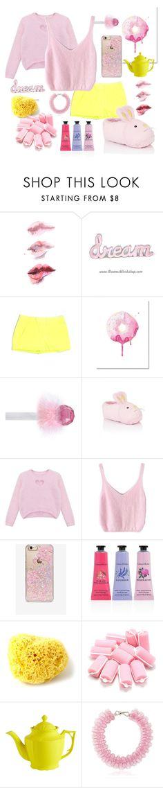 """Barbie. Night party"" by qa8700777 on Polyvore featuring мода, J.Crew, Kenney, Chicnova Fashion, Skinnydip, Crabtree & Evelyn, CB2 и Mary Katrantzou"