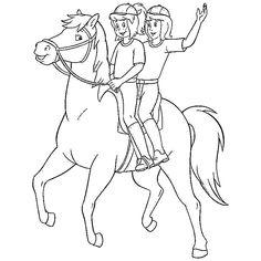 ausmalbilder bibi und tina pferde | ausmalbilder kinder