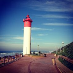 More runs along this promenade News South Africa, Durban South Africa, Visit South Africa, Kwazulu Natal, Life Is A Journey, Study Abroad, Lighthouse, Places To Go, Around The Worlds