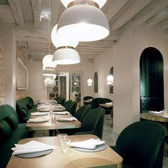 Restaurant : le Sergent Recruteur Adresse : 41 Rue St Louis en l'Ile, 75004  Téléphone :01 43 54 75 42 La décoration selon Jaime Hayon