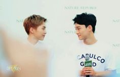 The way you look at me ❤ #Chenmin #Xiuchen #Chen #Xiumin