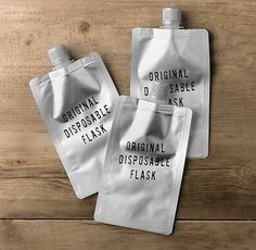 Or even better, disposable flasks ($9). | 21 Things Every Traveler Wishes They Owned