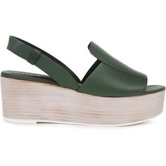 c515d93c3f4 Tibi - ALEX Platform Sandals ( 255) ❤ liked on Polyvore featuring shoes
