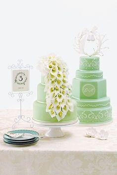 calla lily - light green
