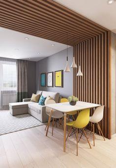Home Interior Design .Home Interior Design Wood Interior Design, Interior Walls, Home Room Design, Dining Room Design, Apartment Interior, Apartment Design, Home Living Room, Living Room Decor, Wood Interiors