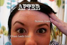 the best mascara, EVER! maybeline falsies. #beauty