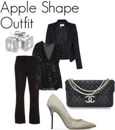 Dresses for Apple Shaped Women | Love it! Maybe with some sturdier (but still sparkly!) heals.