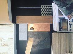 getting our #metal on ✨ #studiosurfaceneverstops #finishes #interiordesign #instagood #custom #design #delmar #staytuned
