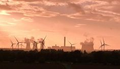 driven by the wind turbines and cooling towers on my way from Goole to Howden