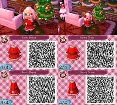 nevermayor:  A Santa-inspired dress! 2/25