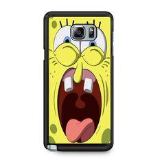 Spongebob Squarepants Scream For Samsung Galaxy Note 5