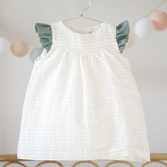 Baby Girl Dresses, Baby Dress, Fashion Moda, Girl Fashion, Frocks And Gowns, Dress Anak, Baby Girl Pictures, Kids Wardrobe, Little Fashion