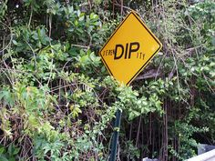 I love these road signs in Coral Bay.. St. John, USVI