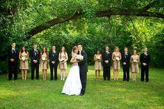 Flowers, Pink, Dress, Wedding, Bridesmaids, Gold, Party, Krista joy photography