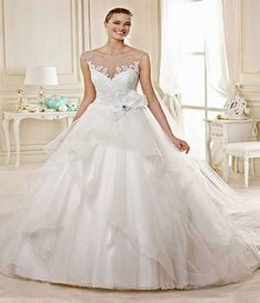 stylish wedding dress 2014-2015