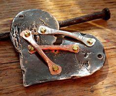 Wire Jewellery, Metal Jewelry, Metal Clay, Silver Bracelets, Jewelry Ideas, Beads, Diy, Inspiration, Copper Jewelry