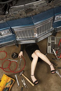 I am a mechanic's daughter. I really should have learned.