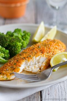 Grated Parmesan Cheese Crusted Tilapia