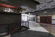 Cave Springs High School  Roanoke, Virgina  Featuring #Fritztile  #school #Flooring #floor #hall