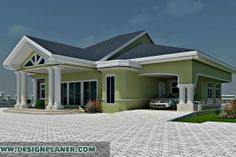 offers complete architectural design and Turn-key Construction Services, Since its inception, Design Planner, LLC has established itself in the Africa as an excellent Design & Build Firm Construction Services, Mansions Homes, Bedroom House Plans, 3d Max, Design Firms, Building Design, Bungalow, Architecture Design, Exterior