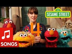 Sesame Street: Feist sings Love Feist, her voice is so warm and pretty. ( : The boys love this song. Number Song, The Power Of Yet, Sesame Street Muppets, Preschool Music, School Videos, Songs To Sing, Action Songs, Kids Videos, Humor