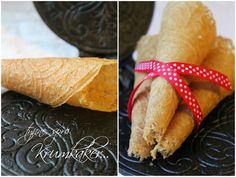 Mat for sjelen...: Lavkarbo, Glutenfrie og Sukkerfrie Krumkaker...
